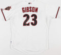 Baseball Collectibles:Uniforms, Kirk Gibson Signed Arizona Diamondbacks Jersey....