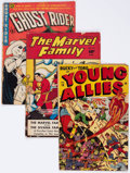 Golden Age (1938-1955):Miscellaneous, Comic Books - Assorted Golden Age Comics Group of 8 (Various Publishers, 1940s-50s) Condition: Average FR.... (Total: 8 Comic Books)