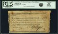 Colonial Notes:Continental Congress Issues, United States Congress Federal Indent September 27, 1785 $1.55/90 Fr. UNL Anderson-Smythe 165. PCGS Very Fine 30 Apparent.. ...
