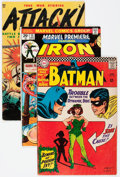 Silver Age (1956-1969):Miscellaneous, Comic Books - Assorted Golden-Bronze Age Comics Group of 5 (Various Publishers, 1953-74).... (Total: 5 Comic Books)
