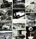 Books:Prints & Leaves, [Cars]. Archive of Approximately 151 Photographs DepictingMiscellaneous Automobiles Circa 1900 to 1960. ...