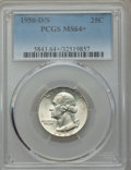 Washington Quarters, 1950-D/S 25C FS-601 MS64+ PCGS....