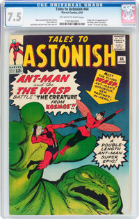 Tales to Astonish #44 (Marvel, 1963) CGC VF- 7.5 Off-white to white pages