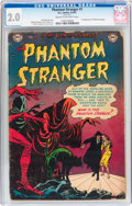 Golden Age (1938-1955):Horror, The Phantom Stranger #1 (DC, 1952) CGC GD 2.0 Cream to off-whitepages....