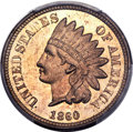 1860 1C Pointed Bust MS65 PCGS. CAC. FS-401....(PCGS# 2056)