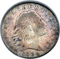 Early Half Dimes, 1794 H10C V-3, LM-3, R.4, VF20 PCGS....