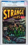 Golden Age (1938-1955):Horror, Strange Tales #27 (Atlas, 1954) CGC FN+ 6.5 Off-white pages....