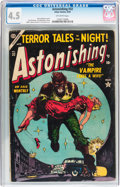 Golden Age (1938-1955):Horror, Astonishing #32 (Atlas, 1954) CGC VG+ 4.5 Off-white pages....