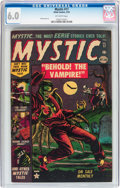 Golden Age (1938-1955):Horror, Mystic #17 (Atlas, 1953) CGC FN 6.0 Off-white pages....