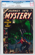 Golden Age (1938-1955):Horror, Journey Into Mystery #10 (Atlas, 1953) CGC FN+ 6.5 Off-whitepages....