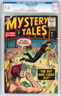 Golden Age (1938-1955):Horror, Mystery Tales #30 (Atlas, 1955) CGC FN/VF 7.0 Off-white pages....