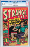 Golden Age (1938-1955):Horror, Strange Tales #4 (Atlas, 1951) CGC VG 4.0 Off-white pages....