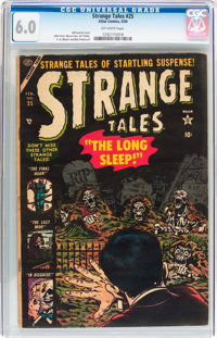 Strange Tales #25 (Atlas, 1954) CGC FN 6.0 Off-white pages