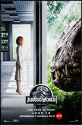 "Movie Posters:Science Fiction, Jurassic World (Universal, 2015). AMC RealD Mini Poster (11"" X 17"")3-D Advance Style. Science Fiction.. ..."