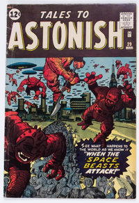 Tales to Astonish #29 (Marvel, 1962) Condition: VG