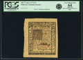 Colonial Notes:Delaware, Colony of Delaware January 1, 1776 5 Shillings Fr. DE-77. PCGS VeryChoice New 64 Apparent.. ...