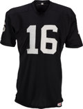 Football Collectibles:Uniforms, Circa 1969-70 George Blanda Game Worn Oakland Raiders Jersey, MEARS A10....