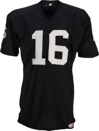 Circa 1969-70 George Blanda Game Worn Oakland Raiders Jersey, MEARS A10