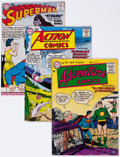 Silver Age (1956-1969):Superhero, Superman-Related Group of 89 (DC, 1950s-70s) Condition: Average VG.... (Total: 89 Comic Books)