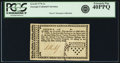 Colonial Notes:Georgia, Georgia 1776 Sterling Denominations 1 Shilling Fr. GA-63. PCGSExtremely Fine 40PPQ.. ...