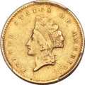 Gold Dollars, 1855-C G$1 XF40 PCGS Secure. Variety 2....
