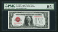 Small Size:Legal Tender Notes, Fr. 1500 $1 1928 Legal Tender Note. PMG Choice Uncirculated 64 Net.. ...