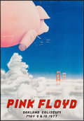 """Movie Posters:Rock and Roll, Pink Floyd at the Oakland Coliseum (Bill Graham, 1977). ConcertPoster (19.5"""" X 28""""). Rock and Roll.. ..."""