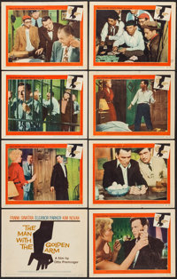 "The Man with the Golden Arm (United Artists, 1955). Lobby Card Set of 8 (11"" X 14""). Drama. ... (Total: 8 Item..."