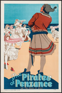 "The Pirates of Penzance (Stafford & Co., Ltd., ca. 1930s). British Theater Poster (20"" X 30""). Miscellaneo..."