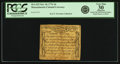 Colonial Notes:Massachusetts, Massachusetts October 18, 1776 3 Pence Fr. MA-223. PCGS Very Fine30 Apparent.. ...