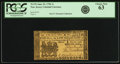 Colonial Notes:New Jersey, New Jersey June 22, 1756 1 Shilling Fr. NJ-92. PCGS Choice New 63.....