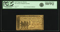 Colonial Notes:New Jersey, New Jersey June 22, 1756 15 Shillings Fr. NJ-97. PCGS Choice AboutNew 58PPQ.. ...