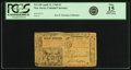 Colonial Notes:New Jersey, New Jersey April 12, 1760 3 Pounds Fr. NJ-140. PCGS Fine 15Apparent.. ...