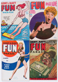 Magazines:Humor, Army and Navy Fun Parade File Copy Long Box Group (Fun Parade,1940s-50s) Condition: Average FN/VF....