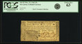 Colonial Notes:New Jersey, New Jersey December 31, 1763 15 Shillings Fr. NJ-157. PCGS ChoiceNew 63.. ...
