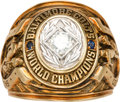 Football Collectibles:Others, 1958 Baltimore Colts NFL Championship Ring Presented to Assistant Coach....