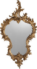 Decorative Arts, French:Other , A Rococo Revival Giltwood Mirror Frame, late 19th century. 46-1/2inches high (118.1 cm). PROPERTY FROM THE ESTATE OF RICH...