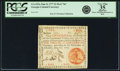 "Colonial Notes:Georgia, Georgia June 8, 1777 $1 Red ""In"" Fr. GA-103a. PCGS Very Fine 35Apparent.. ..."