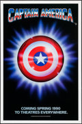 """Movie Posters:Action, Captain America (Columbia/Tristar, 1991). One Sheet (27"""" X 41"""").Action.. ..."""