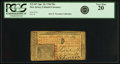 Colonial Notes:New Jersey, New Jersey April 16, 1764 30 Shillings Fr. NJ-167. PCGS Very Fine20.. ...