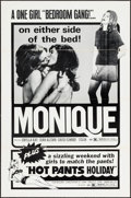 "Movie Posters:Sexploitation, Monique & Others Lot (Avco Embassy, 1970). One Sheets (21) (27""X 41""). Sexploitation.. ... (Total: 21 Items)"