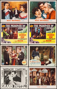 "Grand Hotel & Others Lot (MGM, R-1954). Lobby Cards (8) (11"" X 14""). Academy Award Winners. ... (Total: 8..."