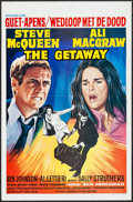 "Movie Posters:Action, The Getaway (Excelsior Films, 1973). Belgian (14"" X 21""). Action.. ..."