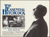 """The Man Who Knew Too Much (UIP, R-1983). British Quad (30"""" X 40""""). Hitchcock"""