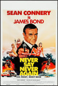 "Movie Posters:James Bond, Never Say Never Again (UGC, 1983). Belgian (14"" X 20.5""). JamesBond.. ..."