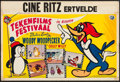 """Movie Posters:Animation, Woody Woodpecker & Chilly Willy (Universal International, 1960s). Belgian (14"""" X 21""""). Animation.. ..."""