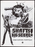 "Movie Posters:Blaxploitation, Shaft's Big Score! & Others Lot (MGM, 1972). Presskits (8) (9""X 11.5,"" & 9"" X 12""). Blaxploitation.. ... (Total: 8 Items)"