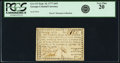 Colonial Notes:Georgia, Georgia September 10, 1777 $4/5 Fr. GA-113. PCGS Very Fine 20.. ...