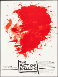 """The Act of Killing by Jay Shaw (Mondo, 2013). Numbered Limited Edition Screen Print Poster (18"""" X 24""""). Docume..."""