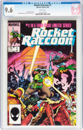 Modern Age (1980-Present):Superhero, Rocket Raccoon #1 (Marvel, 1985) CGC NM+ 9.6 White pages....